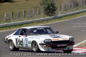 80759 - John Goss / Ron Gillard Jaguar XJ-S - non finisher -  gearbox - only completed 14 laps -  Bathurst 1980 - Photographer Lance J Ruting