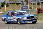 80794  -  D. Johnson / J. French  - Ford  Falcon XD -  Bathurst  1980 - Photographer Lance J Ruting