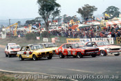 76799 - J. Lang-Peach / P. Gulson  Triumph Dolomite Sprint -  A. Cant / G. Morell  Ford Capri - T. Slako / B. Rhodes - Holden Torana L34 SLR 5000 - Bathurst 1976 - Photographer Lance J Ruting