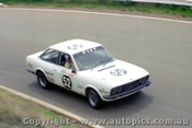 76807 - A. Nuttall / R. Bailey Fiat 124 Sport -  Bathurst 1976 - Photographer Lance J Ruting  slightly out of focus