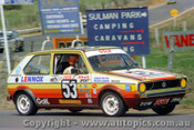 76808 - C. Heyer / P. Lander VW Golf   -  Bathurst 1976 - Photographer Lance J Ruting