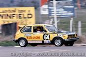 76809 - B. Reed / I. Chilman Honda Civic -  Bathurst 1976 - Photographer Lance J Ruting