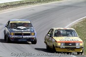 77771 - L. Arnel / R. Carter Ford Escort RS2000 Completed 88 Laps &  B.  Forbes / K. Bartlett  - Holden Torana A9X  Completed 147 Laps - Bathurst 1977 -  Photographer Richard Austin
