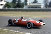 63537 -  D. Walker Brabham Ford - Warwick Farm -  10th Feb. 1963 - Photographer Richard Austin