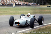 64529 - Frank Matich  Brabham Climax -  Warwick Farm 1964 - Photographer Richard Austin
