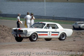 65068 - Ian  Pete  Geoghegan Ford Mustang -  Lakeside  1965 - Photographer John Stanley