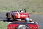 65451a - Doug Chivas Austin Healey Sprite  -  Warwick Farm May 1965  - Photographer Richard Austin