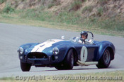 65459 - Ken Miles -  Cobra Roadster -  Lakeside 1965 - Photographer John Stanley