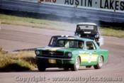 66048 -  B. Thomson Ford Mustang / J. McKeown Lotus Cortina / B. Foley Morris Cooper S -  Lakeside 1966 - Photographer John Stanley