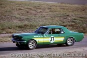 66049 -  Bryan Thomson Ford Mustang -  Lakeside 1966 - Photographer John Stanley