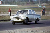 66050 -  Max Volkers Lotus Cortina  -  Lakeside 1966 - Photographer John Stanley