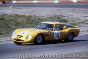 66456 - K. Bartlett / D. Chivas Alfa Romeo GTZ2  - Rothmans 12 Hour Sports Car Race - Surfers Paradise 1966 - Photographer John Stanley