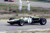 66560 - Jim Clark Lotus 39 Climax - Tasman Series  Lakeside 1966 - Photographer John Stanley