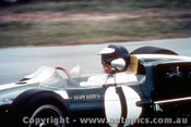 66561 - Jim Clark Lotus 39 Climax -  Tasman Series  Lakeside 1966 - Photographer John Stanley