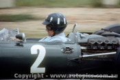 66566 -  Graham Hill - BRM -  Tasman Series  Lakeside 1966 - Photographer John Stanley