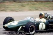 67571 - Jack Brabham - Repco Brabham -  Tasman Series  Lakeside 1968 - Photographer John Stanley