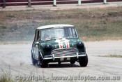 68188 - Brian Foley Morris Cooper S -  Lakeside 1968 - Photographer John Stanley