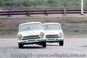 68189 - Max Volkers Lotus Cortina  -  Lakeside 1968 - Photographer John Stanley
