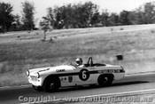 68465 - Les Carne  - Austin Healey Sprite -  Oran Park 30th June 1968 - Photographer Lance J Ruting