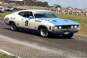 73100a - A. Moffat  Ford Falcon XA - Sandown 250 - September 1973 - Photographer Peter D Abbs