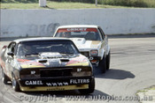 79036 - A. Moffat Ford Falcon XC / A. Grice Holden Torana A9X - Oran Park 25th March 1979 - Photographer Richard Austin