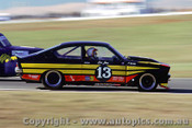 Eric Jones  Holden Gemini - Oran Park 1980 - Photographer Richard Austin