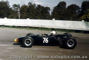 66572  - John Harvey Repco Brabham  Ford - Sandown Tassman Series 1966 - Photographer Peter D Abbs