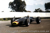 66573  - John Harvey Repco Brabham  Ford - Sandown Tassman Series 1966 - Photographer Peter D Abbs