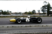 66574  - Frank Gardner Repco Brabham  Climax - Sandown Tassman Series 1966 - Photographer Peter D Abbs