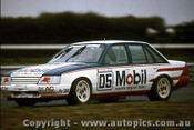 85026  - Peter Brock  -  Holden Commodore VK  Sandown  1985