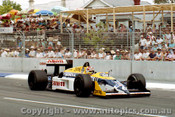 87505 - Nelson Piquet  Williams FW 11E  - AGP Adelaide 1987 - Photographer Darren House