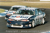96012 -  Craig Lowndes / Peter Brock Holden Commodore VR - Calder  1996 - Photographer Darren House