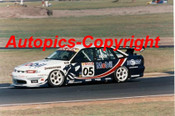 97005 - Peter Brock Holden Commodore - Oran Park 1997 - Photographer Darren House