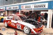P. Brock / D. Warick Vauxhall Vectra - AMP Bathurst 1000 1997 - 97713