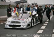 98403 - Mark Webber Mercedes Benz CLR - Oscherleben 1998 - Photographer M. Jordon