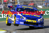 202039 - Marcos Ambrose - Ford Falcon  Adelaide 2002 - Photographer Craig Clifford