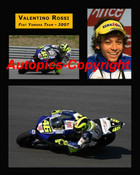 464 - Valentino Rossi  -  A collection of three photos from 2007
