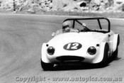 74417 - Barry Stokie Austin Healey Sprite - Amaroo 24th November 1974 - Photographer Lance J Ruting
