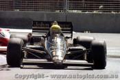 86508 - Ayton Senna Lotus 97T - AGP Adelaide 1986 - Photographer Darren House