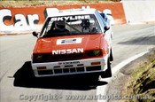 89791  -  J. Richards / M. Skaife - 3rd Outright - Nissan Skyline  -  Bathurst 1989