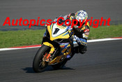 206326 - Troy Corser Suzuki  - Superbikes Sachsenring Germany 2006 - Photographer Mike Jordon