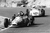 77514 - Graham Vaughan GV Formula Vee / K. Calderbank Revell Vee - Amaroo Park 10th July 1977 - Photographer Lance Ruting