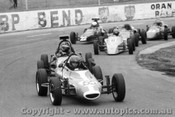 77517 - Graham Vaughan GV Formula Vee  /  #6 P. Houston Elfin Vee  - Oran Park 30th October 1977 - Photographer Lance Ruting