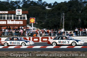 85028  - John Harvey & Peter Brock  -  Holden Commodore VK  1985