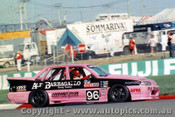 89805 - T. Slako / G. Leeds / Smith  Holden Commodore VL - Bathurst 1989 - Photographer Lance Ruting