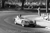 57421 - H. Firth - Triumph Special - Albert Park 1957 - Photographer Peter D Abbs