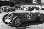 57422 - G. Sandford - Morgan MG Special - #32  A. College MG - #35  B. Swinger MG - Albert Park 1957 - Photographer Peter D Abbs