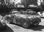 57424 - J. Sweetapple Triumph TR2 - Albert Park 1957 - Photographer Peter D Abbs