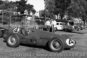 57519 - L. Davison  - Ferrari - Albert Park 1957 - Photographer Peter D Abbs
