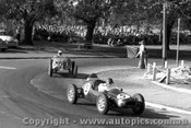 57521 - J. Brabham Cooper Climax F2 /  G Sandford - Morgan MG - Albert Park 1957 - Photographer Peter D Abbs